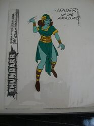 Amazon Leader Model Sheet