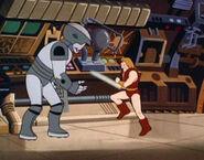 Thundarr vs Robot