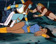 Thundarr and Ariel Underwater