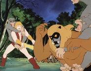 Thundarr and Ookla vs Beastmen