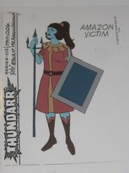 Amazon Victim 2 Model Sheet
