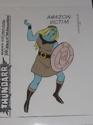 Amazon Victim 1 Model Sheet