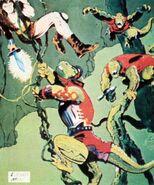 Thundarr vs Lizardmen