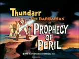 Prophecy of Peril