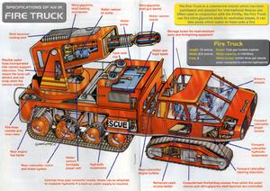 Fire Truck (cutaway)