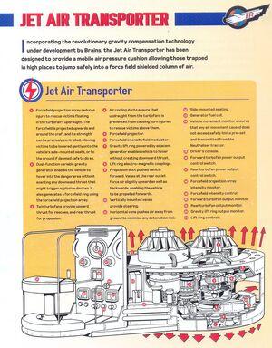 Jet air cutaway