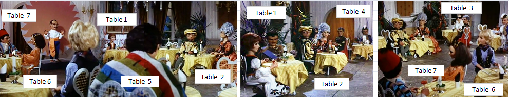 Hotel Table Plan