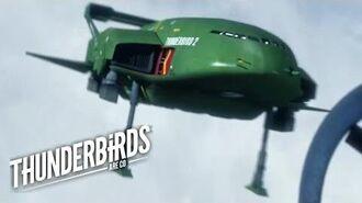 Thunderbird 2 Is Going Down Thunderbirds Are Go Clip