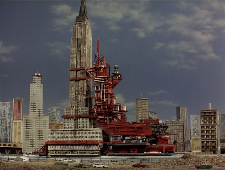 Empire state building thunderbirds wiki fandom powered - Construction en rondins empiles ...