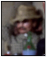 Man in Karki hat