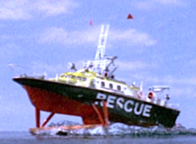 Air-sea rescue boat