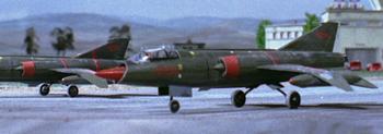Fighter Jet (Wheels down)