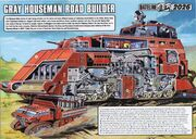 Road builder (cutaway)