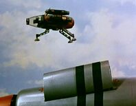 Remote-Control Hover Camera Leaving Thunderbird 1