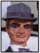 Man with hat and bow tie