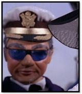 Man in naval uniform