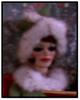 Lady in fur coat.