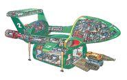 Bleathman Thunderbird 2 Cross-Section