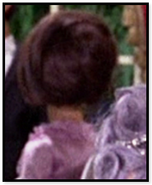 Lady with back to camera
