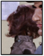 Lady in brown coat
