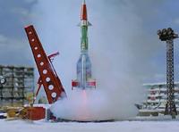 Christmas Rocket 3