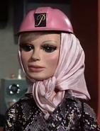 Pink hard hat for a Detonation