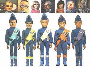 Thunderbirds Cast