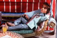 Virgil Relaxing