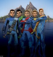 Introducing the new look Thunderbird pilots