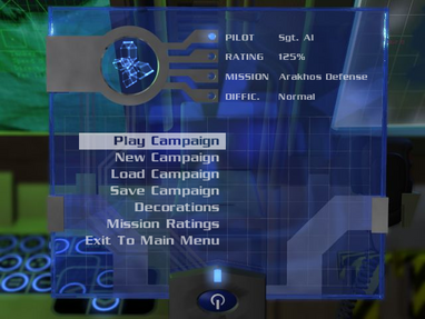 Campaign Start Screen