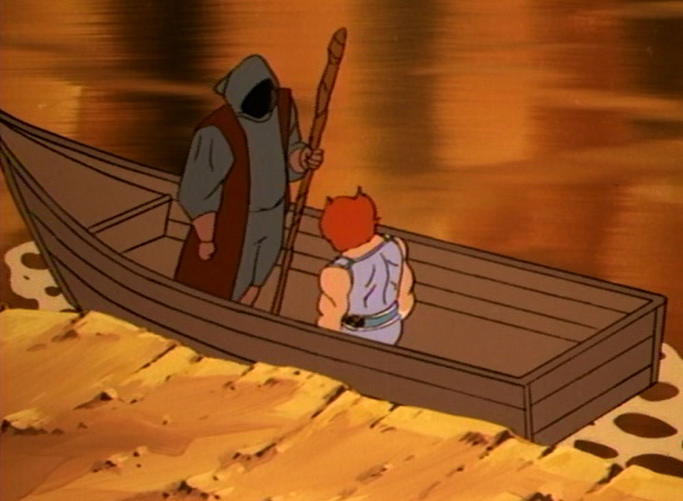 Boatman Superhero