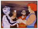 Liono greeting newthundercats