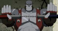 Panthro fights Mumm-ra