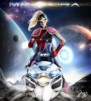 Mandora the evil chaser thundercats by mlauneim-d54c29c