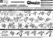 Bandai ThunderCats ThunderTank Instructions - 01