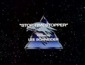Stop Timestopper - Title Card