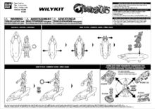Bandai ThunderCats WilyKit Action Figure Instructions - 01