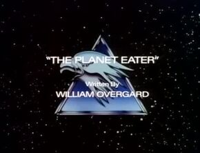 The Planet Eater - Title Card
