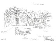 Original Concept Art - Castle Plun-Dare - Eyeroom - 001