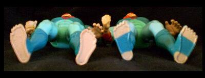 LJN Old Tygra Feet Variants