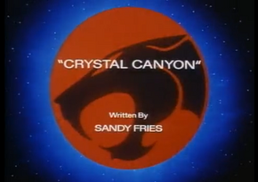 Crystal Canyon - Title Card