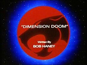 Dimension Doom Title Card