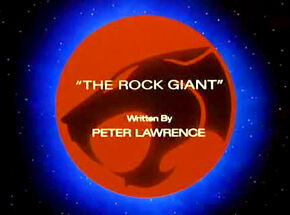 Rock Giant TItle Card