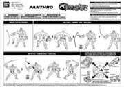 Bandai ThunderCats Panthro Action Figure Instructions - 01