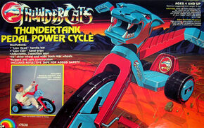 LJN Big Wheel Pedal Bike Box