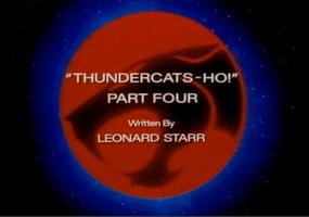 Thundercats Ho - Part IV - Title Card