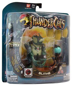 Bandai ThunderCats Slithe Deluxe Action Figure Boxed - 01
