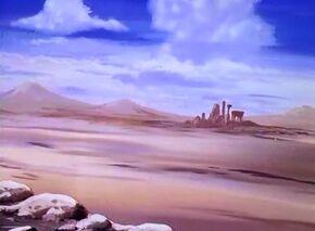 Desert of Sinking Sands