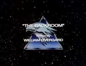 The Backroom - Title Card