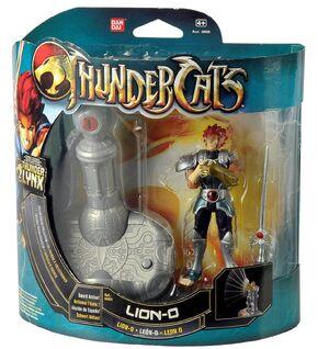 Bandai ThunderCats Lion-O Deluxe Action Figure Boxed - 01
